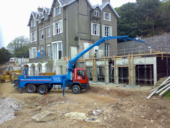 Concrete Cornwall Pumping